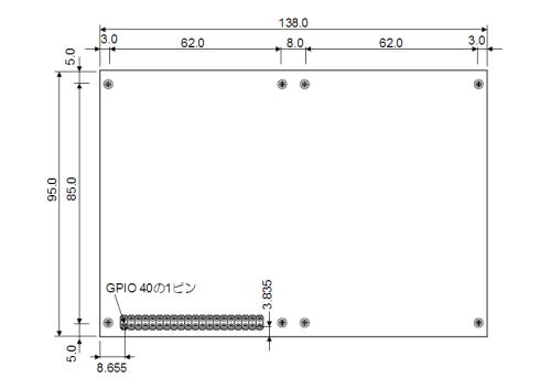 RPi-ITX-KIT Exp-PCB#1